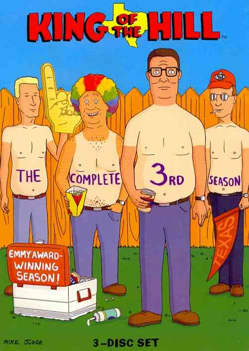 KING OF THE HILL SEASON 3 BY KING OF THE HILL (DVD)